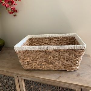 Other - Large woven bin basket
